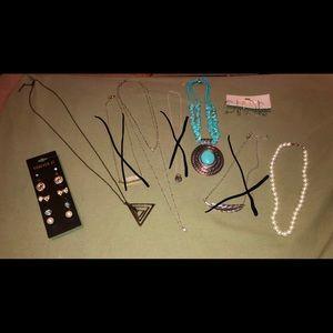 Jewelry Bundle (Necklaces & Earrings)